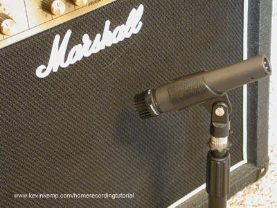Captação de guitarra